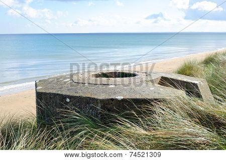Tobruk Bunker Ww2 ,Utah Beach.