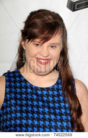 LOS ANGELES - OCT 16:  Jamie Brewer at the 2014 Media Access Awards at Paley Center For Media on October 16, 2014 in Beverly Hills, CA