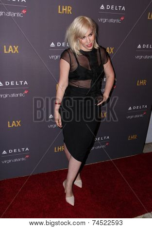 LOS ANGELES - OCT 22:  Natasha Bedingfield at the Delta Air Lines And Virgin Atlantic #Flysmart Celebration at The London Hotel on October 22, 2014 in West Hollywood, CA
