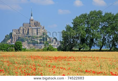 Mont Saint Michel Brittany France