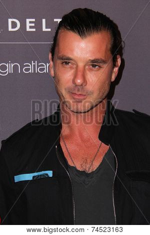 LOS ANGELES - OCT 22:  Gavin Rossdale at the Delta Air Lines And Virgin Atlantic #Flysmart Celebration at The London Hotel on October 22, 2014 in West Hollywood, CA