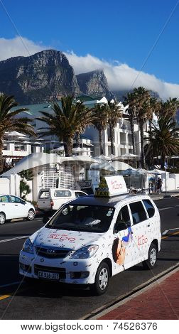 Taxi In Cape Town, South Africa