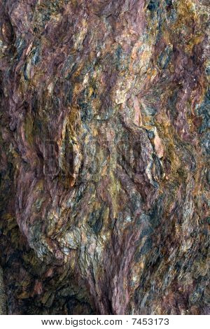 Brightly Colored Rock Background