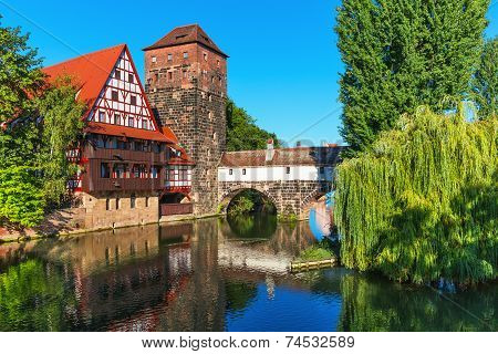 Old Town in Nuremberg, Germany