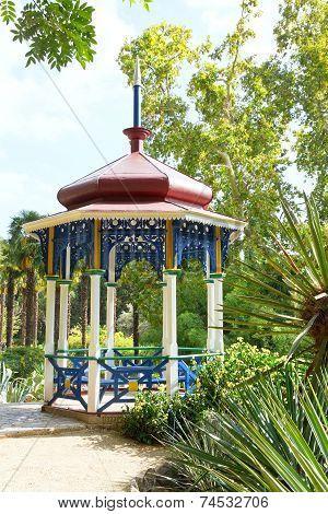 Summer Pavilion In Nikitsky Botanical Garden