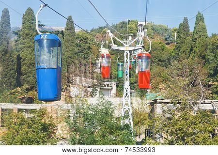 Urban Cableway Yalta - Darsan Hill, Crimea