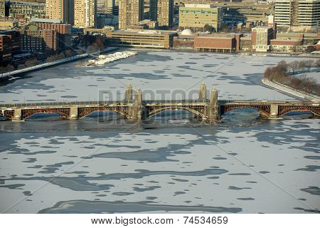 Charles River and Longfellow Bridge, Boston