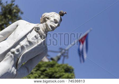 Carlos Manuel de Céspedes statue