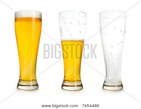 Beer Drinking Stages