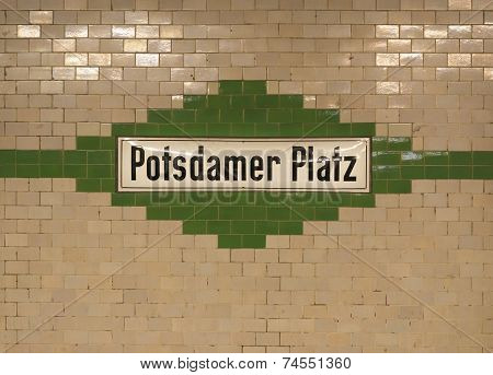 Berlin Subway Station