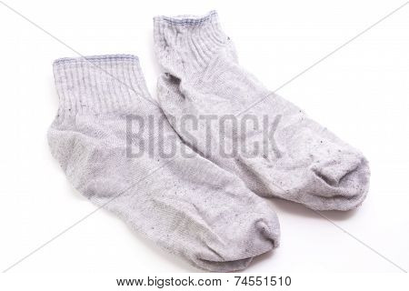 Gray Woolen Socks