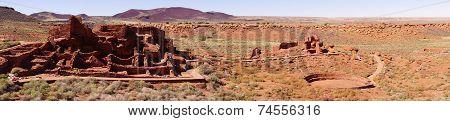Panorama, Wupatki Pueblo Ruins