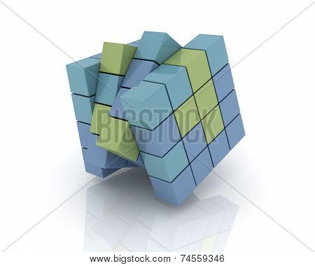 Gray Cubes