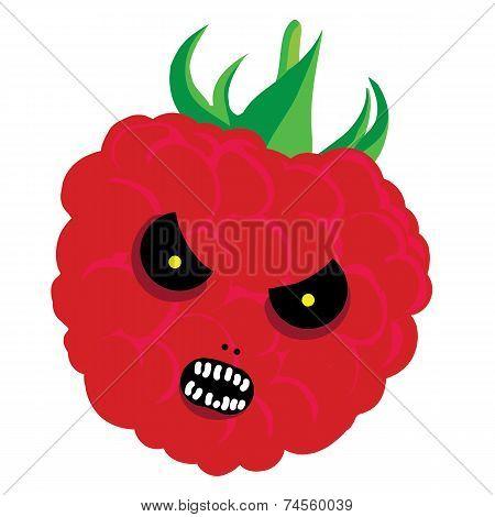 raspberry halloween
