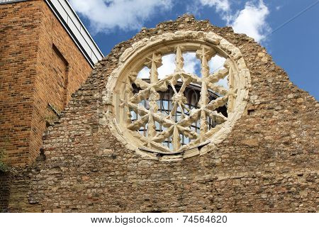 Ruins Of Winchester Palace In London