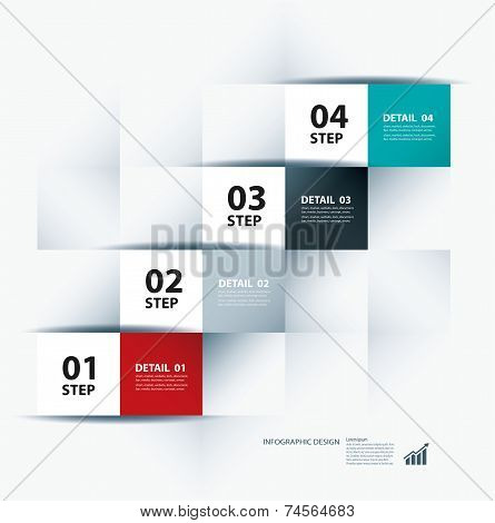 business stairs infographic Template