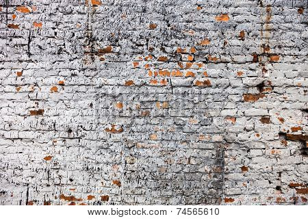 The Old Whitewashed Brick Wall