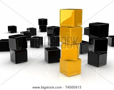 Yellow Cubes