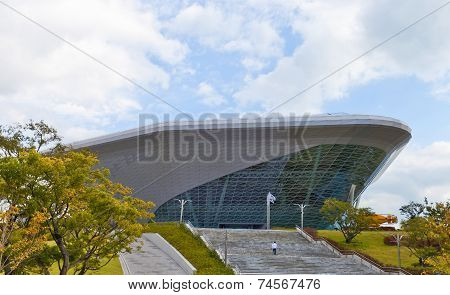 National Maritime Museum In Busan, South Korea