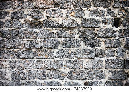Brick Masonry With Rich And Various Texture
