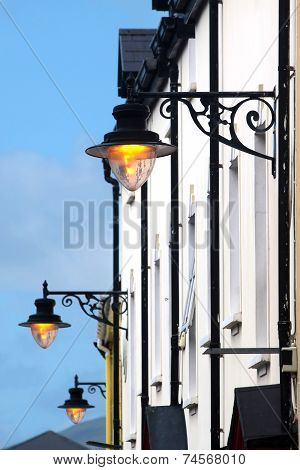 Ancient Street Lanterns