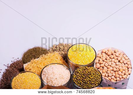 Composition of glasses with cereals