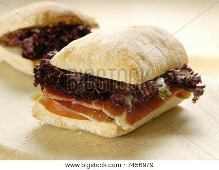 Prosciutto sandwich