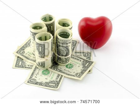 The heart of the money
