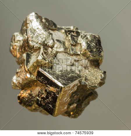 Pyrite from Winterswijk in the Netherlands