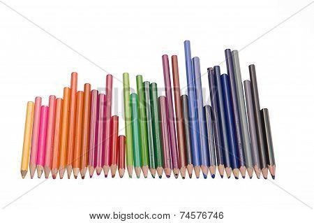 Pencils used