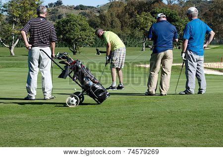 Golf on Costa del Sol, Spain