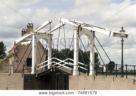 Drawbridge In Heusden.