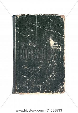 Black Old Cover Of Book