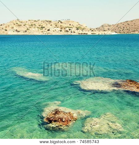 Spinalonga Island, A Venetian Fortress And Leper Colony(Crete, G