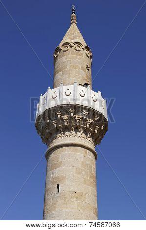 Minaret In Bodrum, Turkey