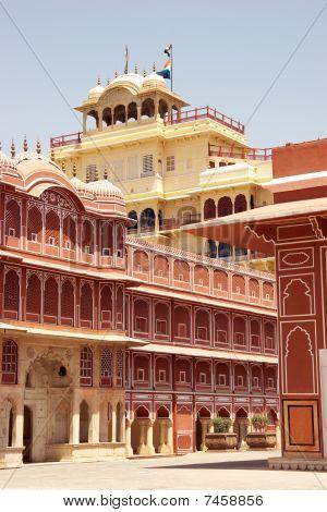 City Palace Building, Jaipur, India