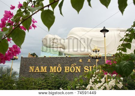 Sleeping Buddha in Vietnam