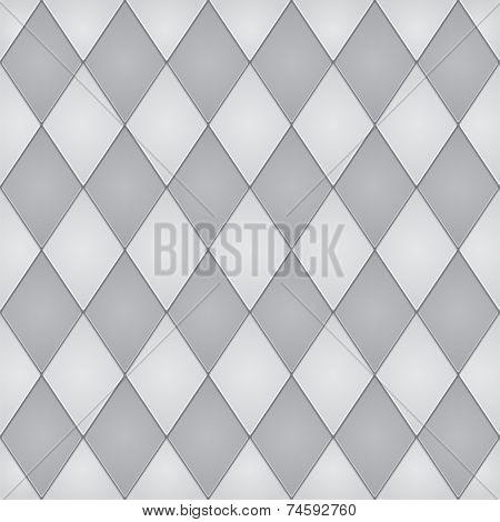 Repeating geometric tiles Seamless pattern. Vector