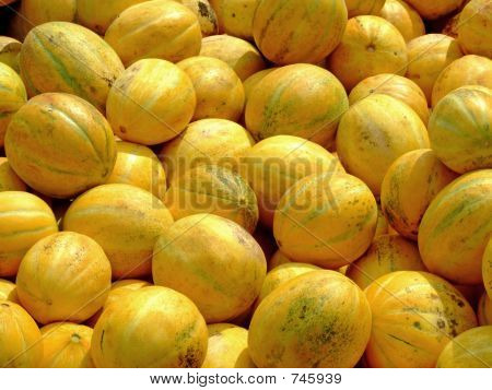 Bunch of melons