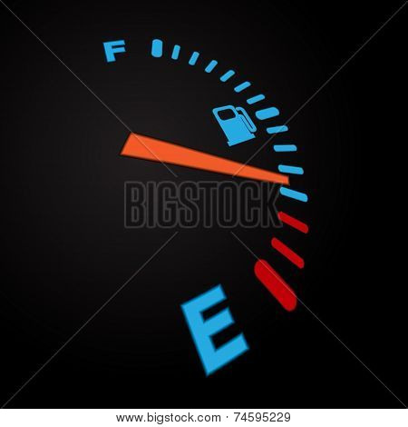 Fuel indication black