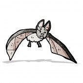 pic of vampire bat  - cartoon vampire bat - JPG