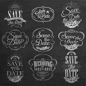 stock photo of chevron  - Save The Date - JPG