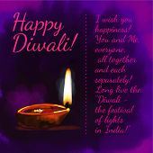 stock photo of diwali lamp  - Diwali - JPG