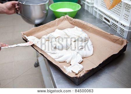 Sponge Cake Dough