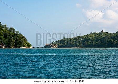 Coastline Of Seychelles Islands