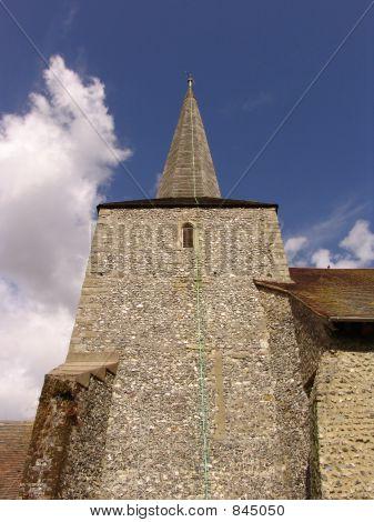 flint church tower