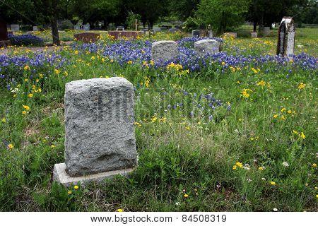 A Texas Headstone