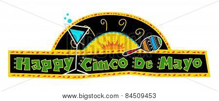 Happy Cinco de Mayo Banner