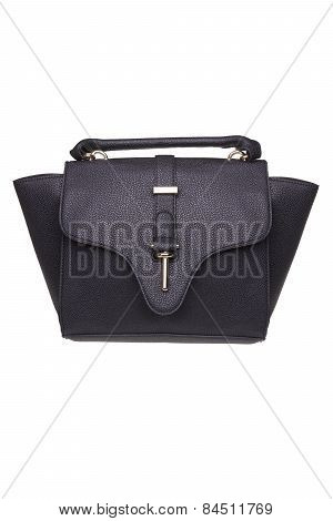 Female Handbag On A White Background