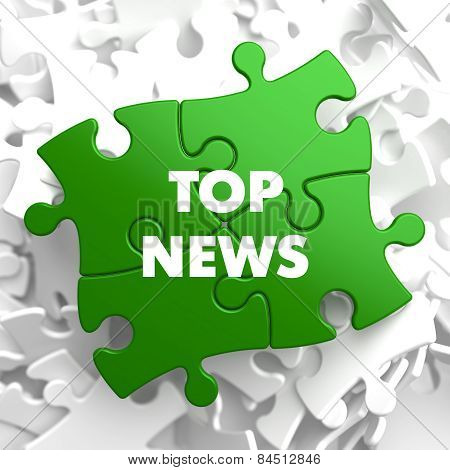 Top News on Green Puzzle.